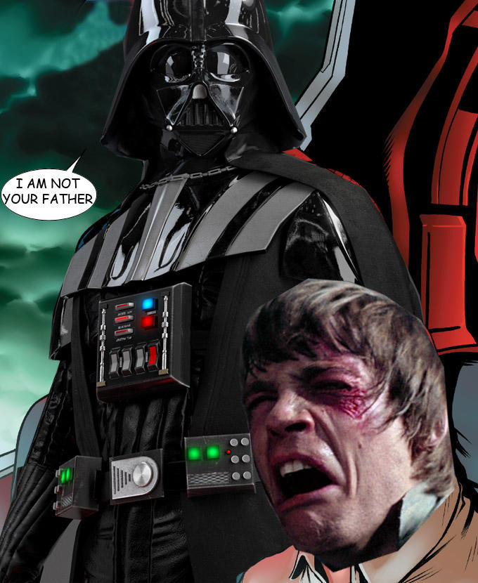 Captain Vader Hail Hydra Not Your Father Captain Hydra