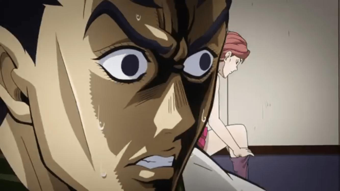 Concerned Kosaku JoJos Bizarre Adventure Know Your Meme