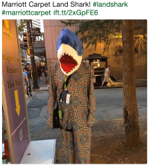 Marriott Carpet Land Shark Meme