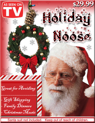 Christmas Noose Christmas Cancellation Announcement