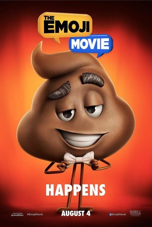 Image result for emoji movie shit happens