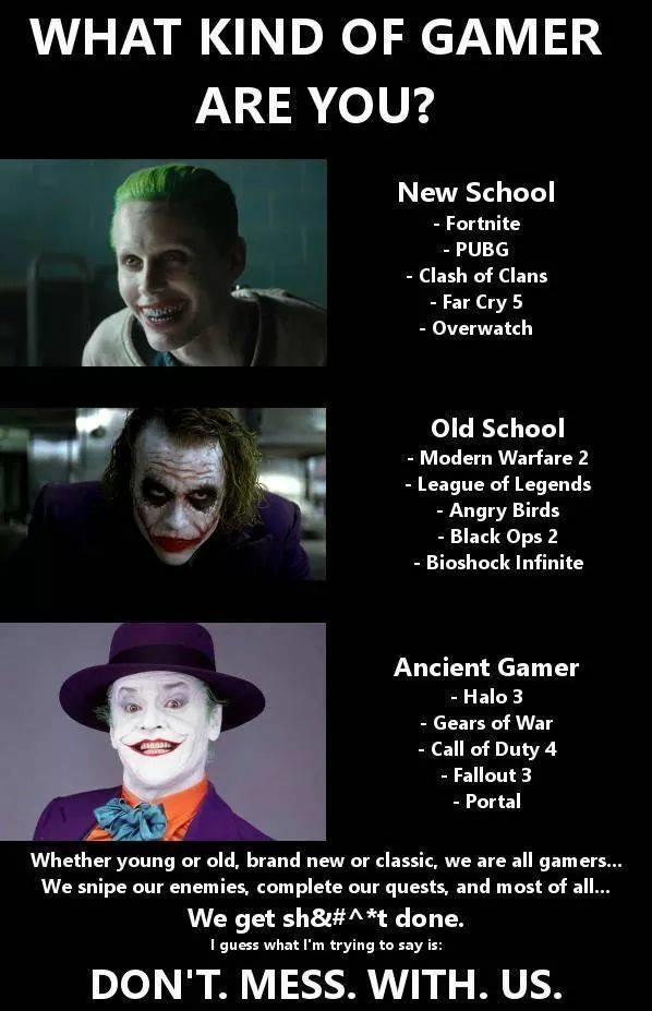 Gamer Joker Know Your Meme
