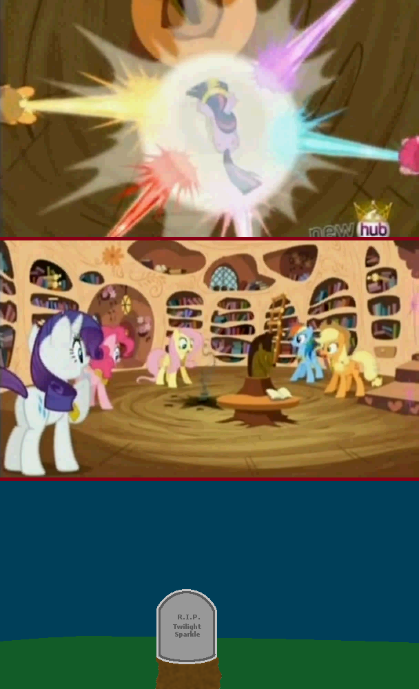 RIP Twilight Sparkle  My Little Pony Friendship is