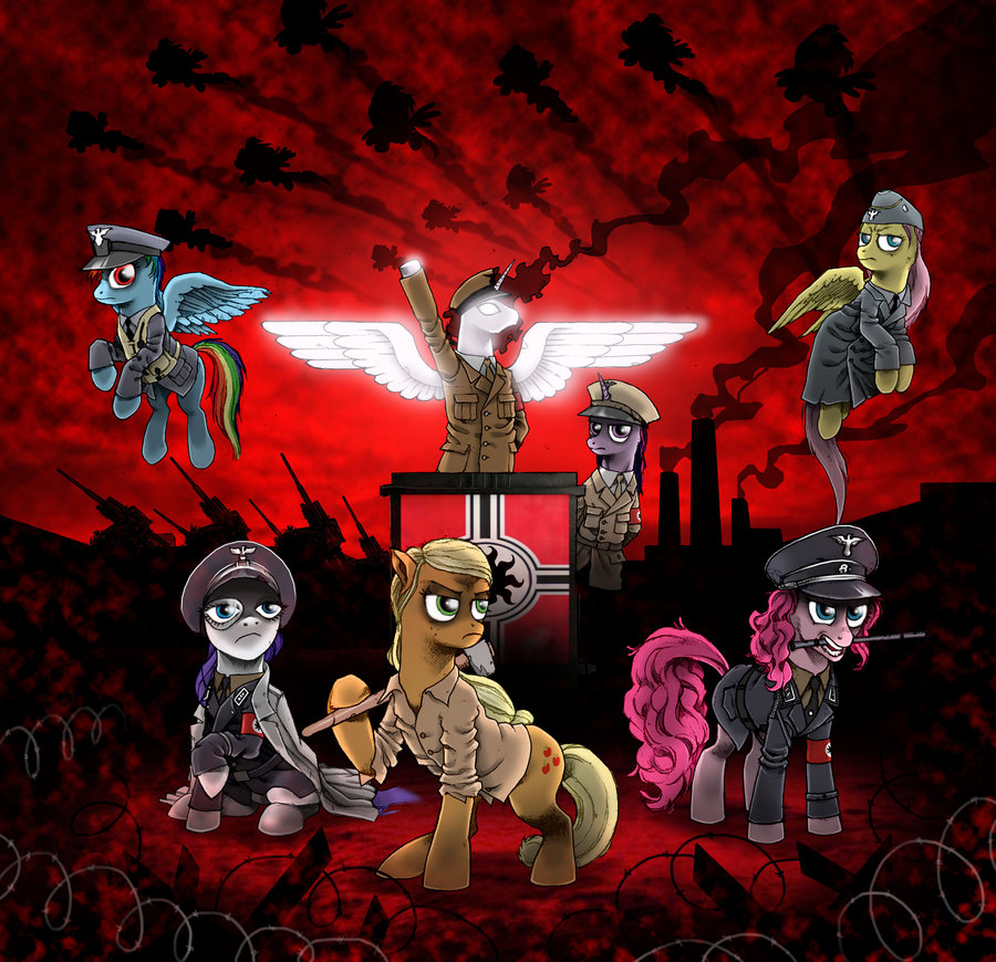 Command And Conquer Wallpaper Girl Mlp Ponies As Nationalist Socialists My Little Pony Art