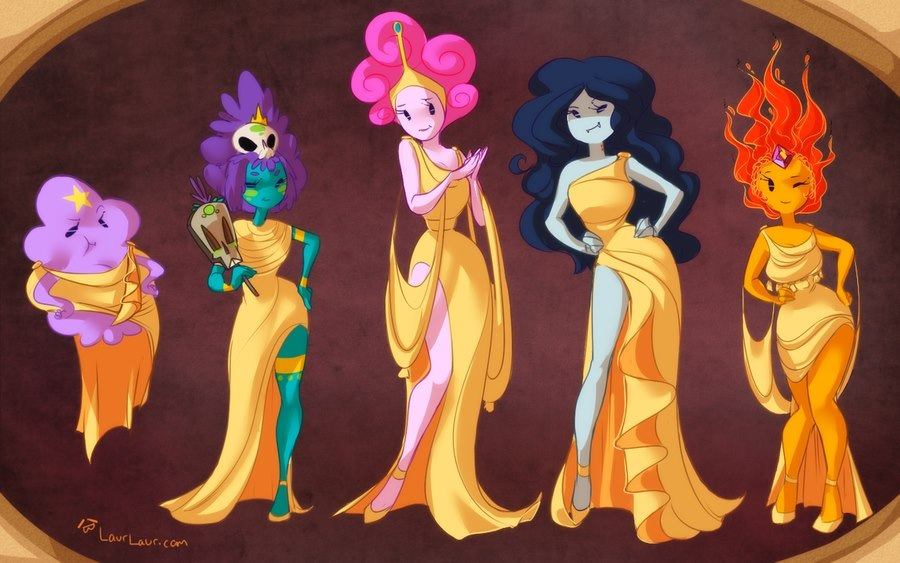And Chibi Princess Flame Finn