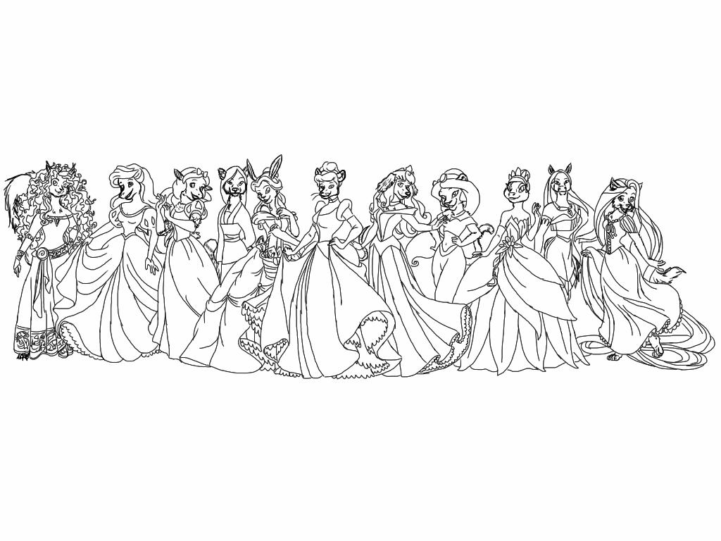 More Anthropomorphed Disney Princesses
