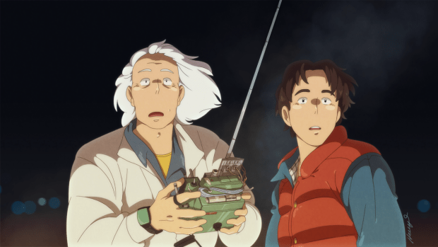 Image result for anime back to the future