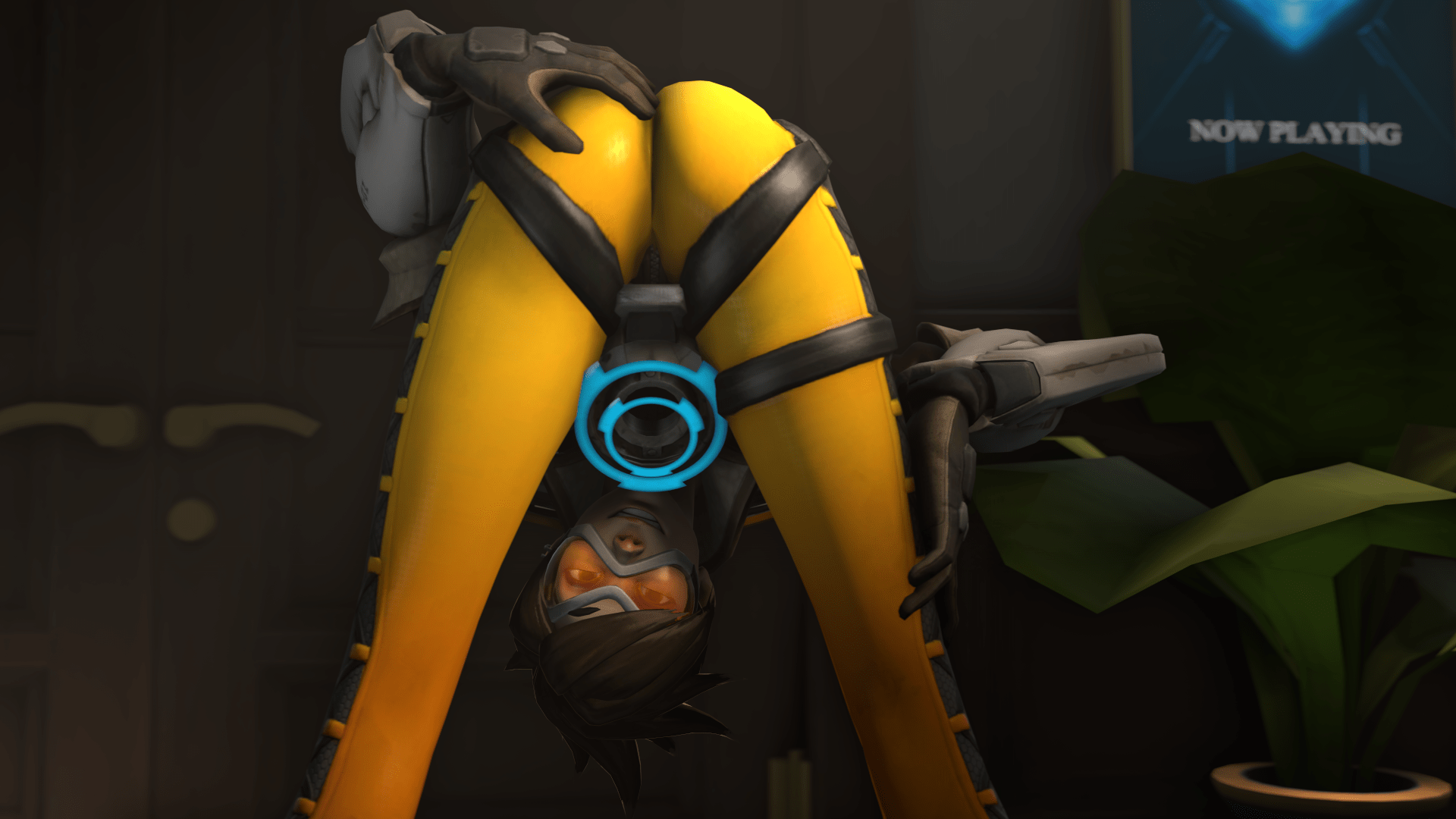 Bottoms Up For Tracer Overwatch Know Your Meme