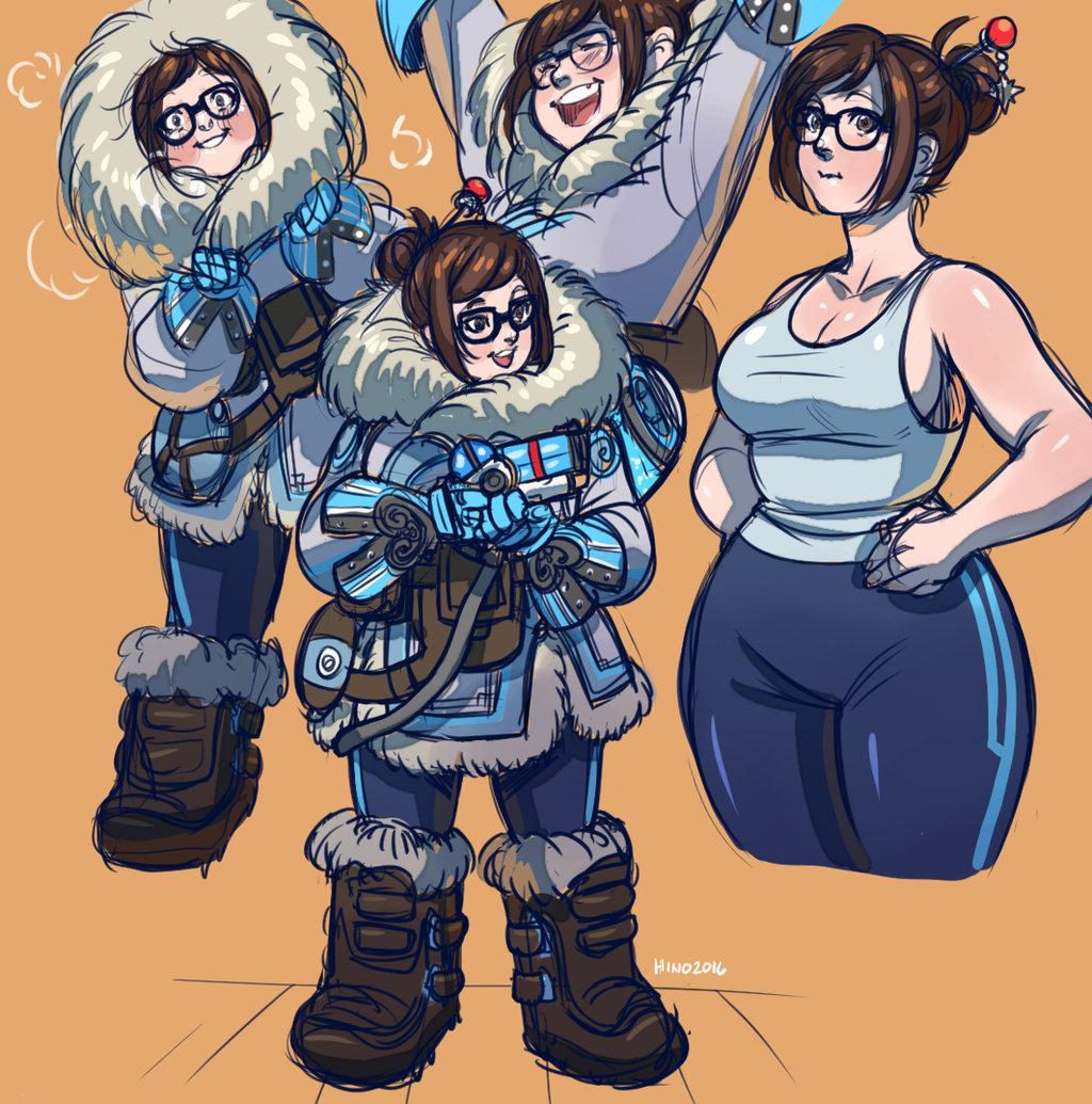 Stardew Valley Cute Wallpaper Overwatch Mei Overwatch Know Your Meme