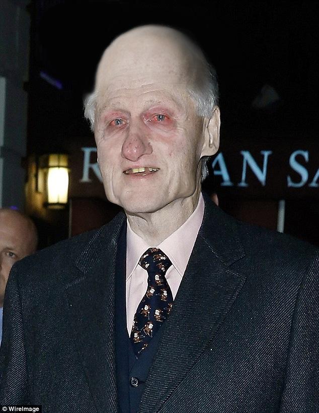 Old Man Photoshop  AIDS Bill Clinton  Terminally Bill