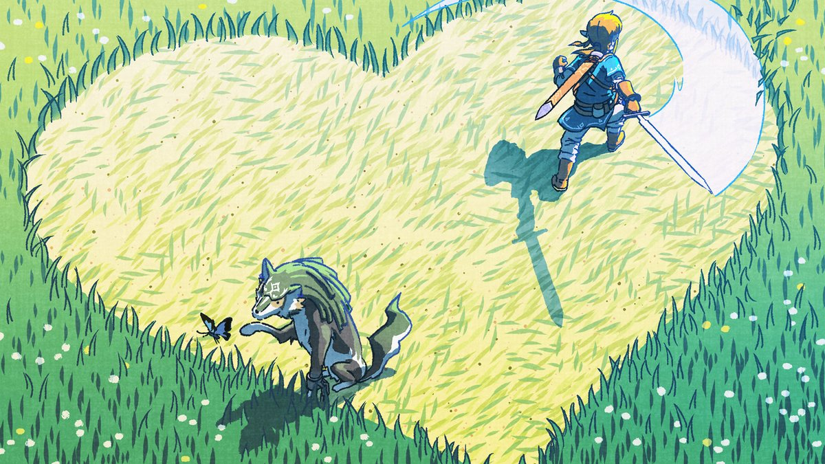 Happy Valentiness Day The Legend Of Zelda Breath Of