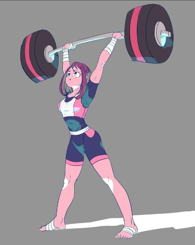 Academia Girl My Hero Gravity