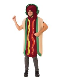 Dancing hotdog costume