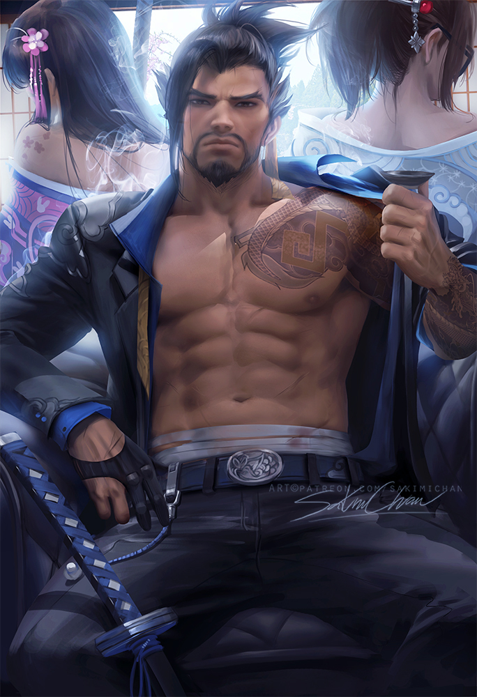 It Dies Today Quotes Wallpaper Yakuza Hanzo Overwatch Know Your Meme