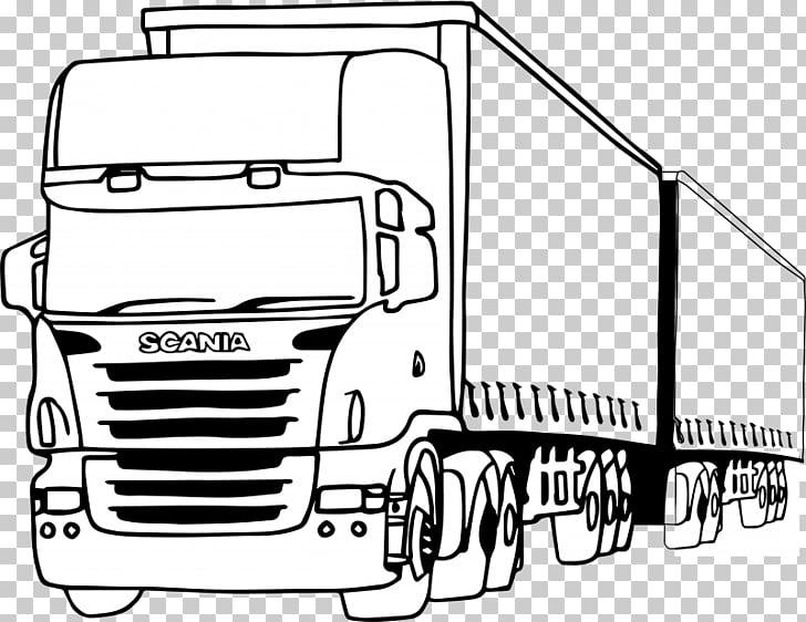 Dibujos de Scania ab pickup car car, pickup PNG Clipart