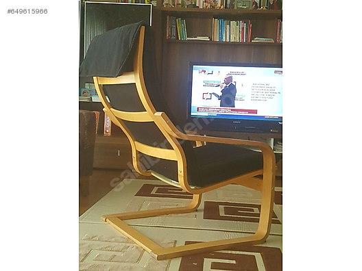 tv chair ikea low beach chairs koltugu poang at sahibinden com 649615966