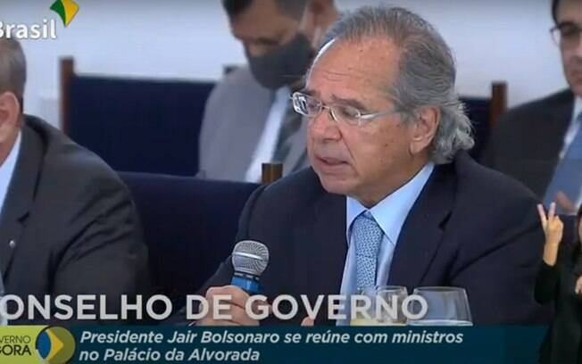 paulo guedes reunião ministerial