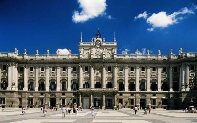 Palácio real, em Madri