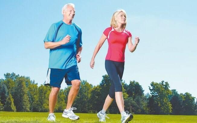 Caminhada é importante para a saúde do coração