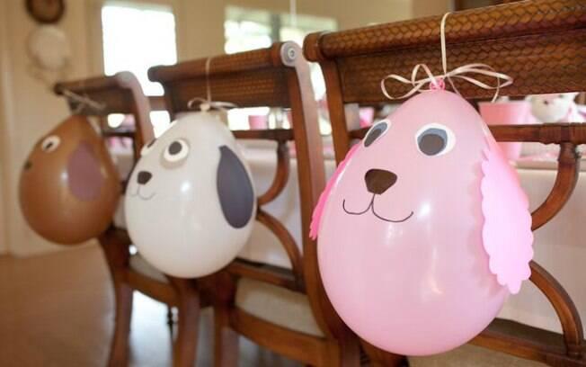 Como usar bales na decorao da festa de aniversrio