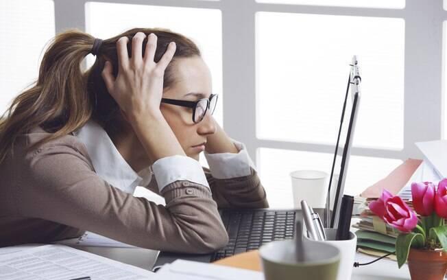 Alguns pacientes afirmam sentir dificuldade de concentração. Foto: Thinkstock