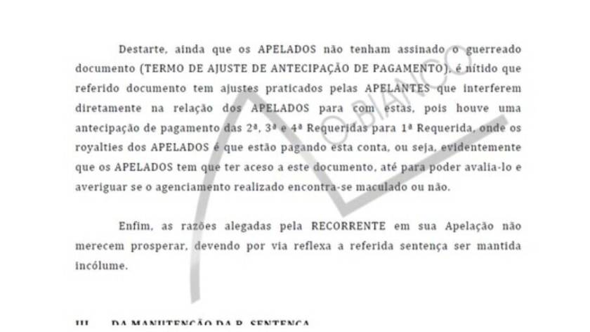 Sertanejos want to open accounts in process