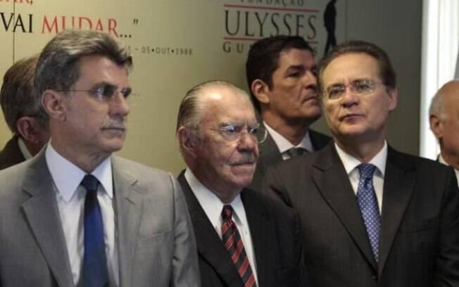 Romero Jucá, José Sarney e Renan Calheiros foram comprometidos com vazamento de áudios