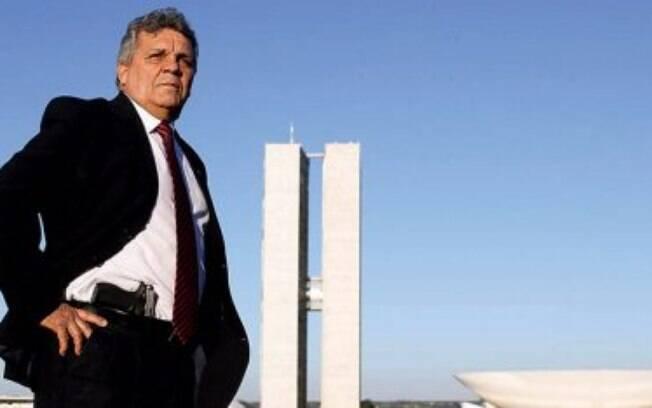 "O ex-deputado Alberto Fraga defendeu o desmembramento do ministério de Moro: ""menino buchudo"""