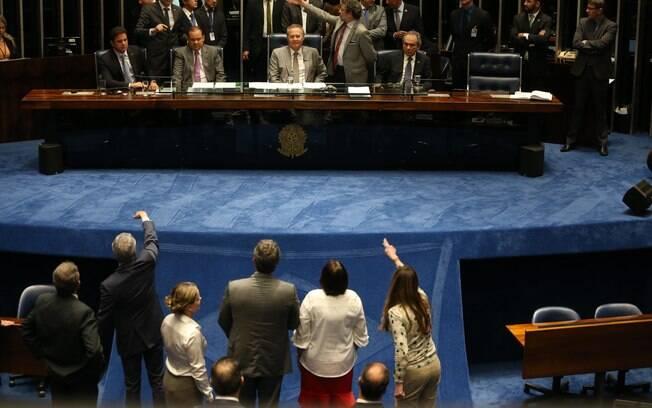 Renan Calheiros considerou a medida de Maranhão