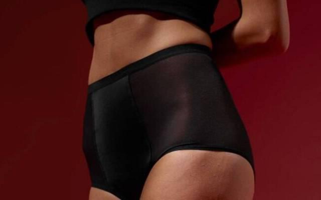 A marca já lançou 3 modelos diferente de calcinha absorvente