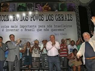 Lula esteve em evento em Montes Claros nesta quinta-feira e estará em Belo Horizonte nesta sexta