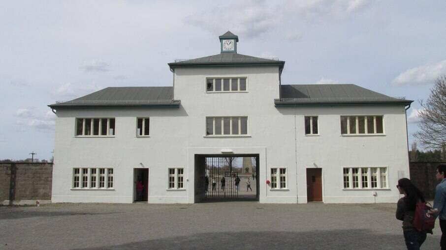 Campo de concentração em Sachsenhausen, na Alemanha