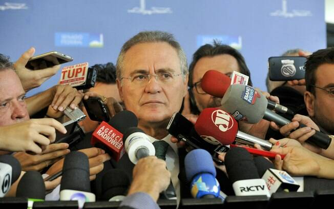 Senador Renan Calheiros (PMDB) foi um dos políticos gravados em conversa com Sérgio Machado