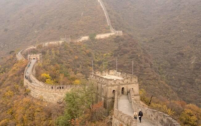 A muralha tem um tour completo em 360º