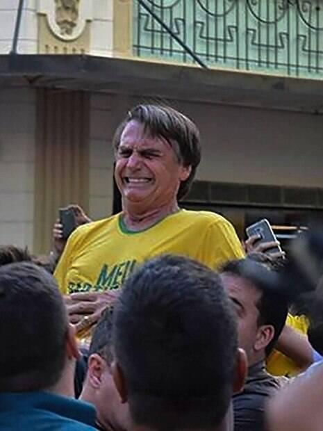 Assim que sofreu o ferimento, Bolsonaro foi rapidamente levado ao hospital da cidade