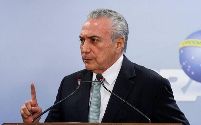 OAB decide protocolar pedido de impechment contra o presidente Michel Temer