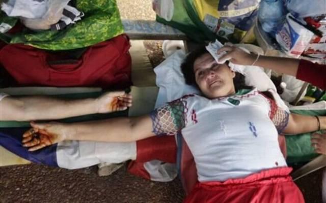 Protestos do tipo têm se tornado comuns no Paraguai, pois aparentemente funcionam. Foto: AP Photo