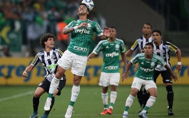 Palmeiras e Santos fizeram um grande jogo pela Copa do Brasil