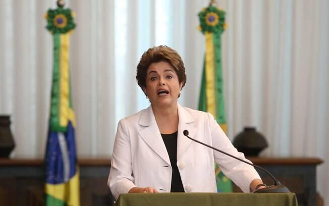 Em pronunciamento, Dilma enfatizou que seu retorno à presidência significará