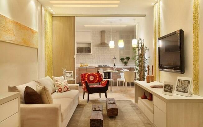 Salas poderosas transformam a casa  Decorao  iG