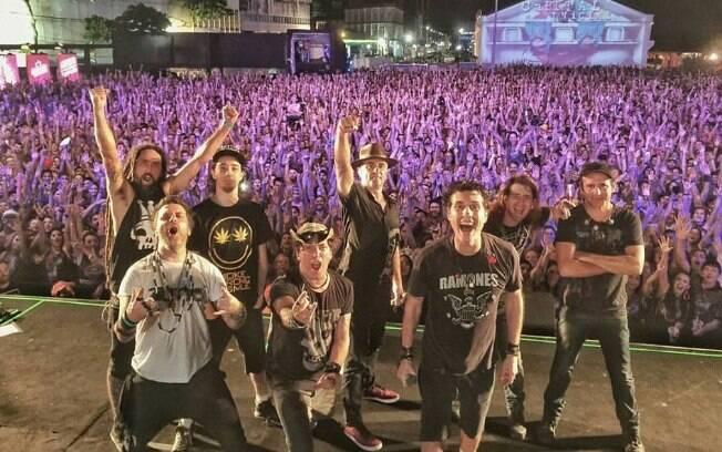 Capital Inicial se prepara para mais um show no Festival Rock in Rio este ano