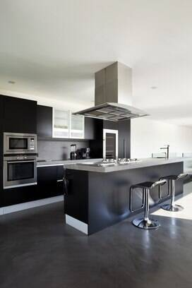 cuisine ilot central design