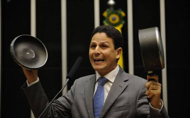 Foi o deputado federal Bruno Araújo (PSDB-PE) quem deu o voto decisivo na votação pela abertura do processo de impeachment na Câmara. Ele agora é ministro das Cidades. Foto: Fotos Públicas