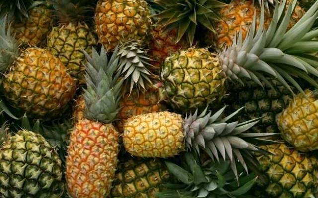 Quanto mais vivas as cores do abacaxi melhor
