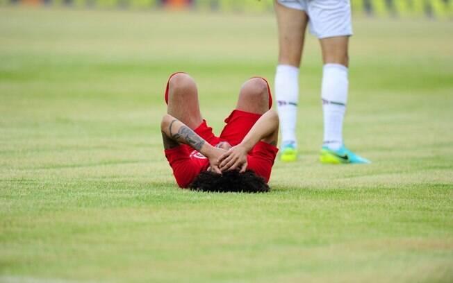 O Internacional foi rebaixado para a Série B do Brasileirão pela primeira vez na em sua história