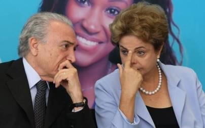 Petista classificam a decisão do partido do vice-presidente Michel Temer como irreversível
