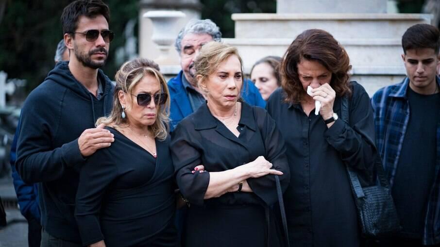 Julio Rocha, Susana Vieira, Arlete Salles, Otávio Augusto e Rosi Campos