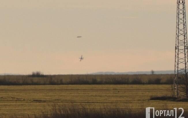 As fotos foram publicadas em 15 de janeiro pelo Portal 12, um site búlgaro que reúne fotos de aparições extraterrestres