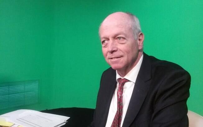 O ouvidor das polícias paulistas, Julio Cesar Fernandes, em entrevista ao iG na sede da OAB-SP