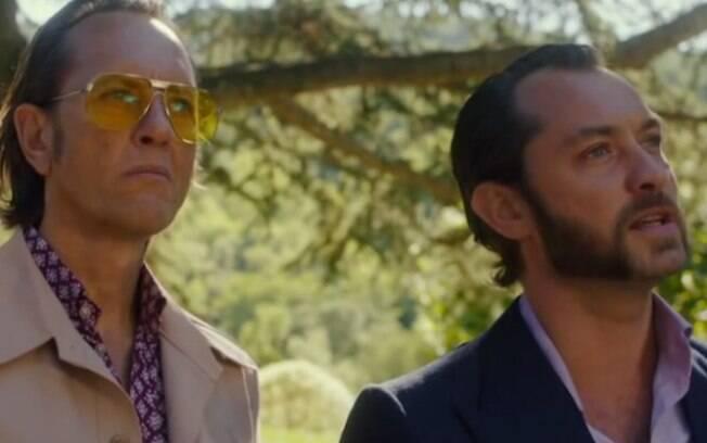 Jude Law aparece completamente nu em cena de novo filme - Gente - iG